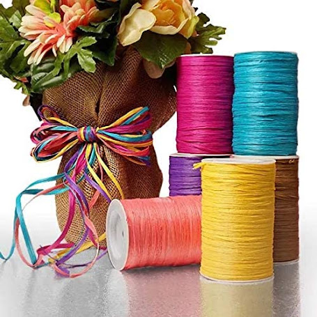 Best Raffia Ribbon For Gift Wrap Craft Packaging and Decoration