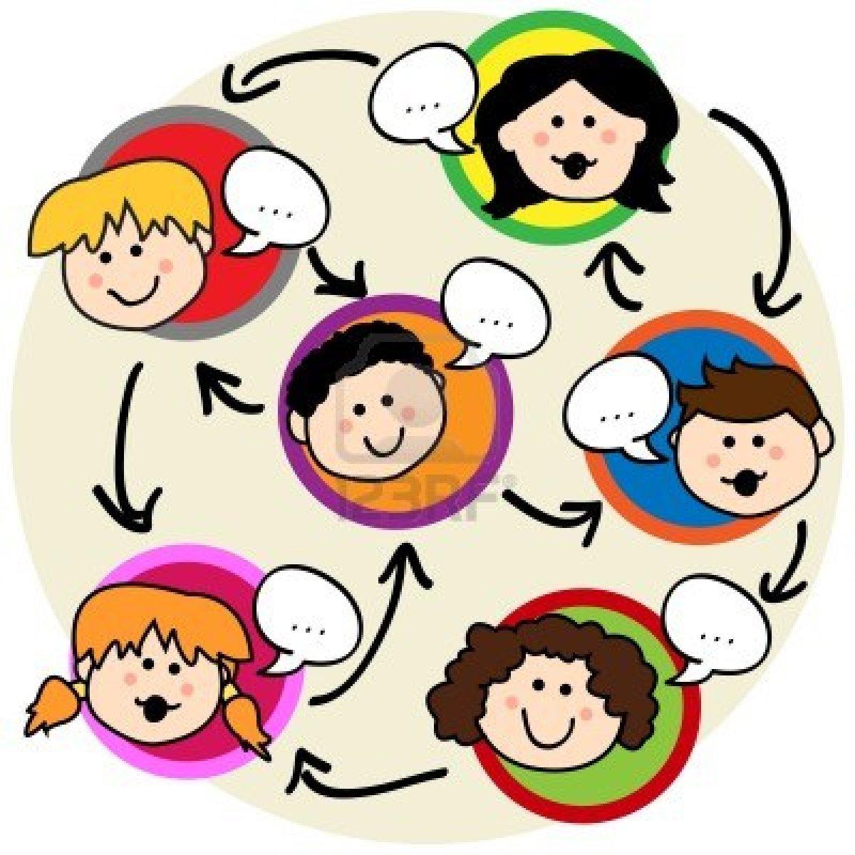children speaking clip art - photo #14