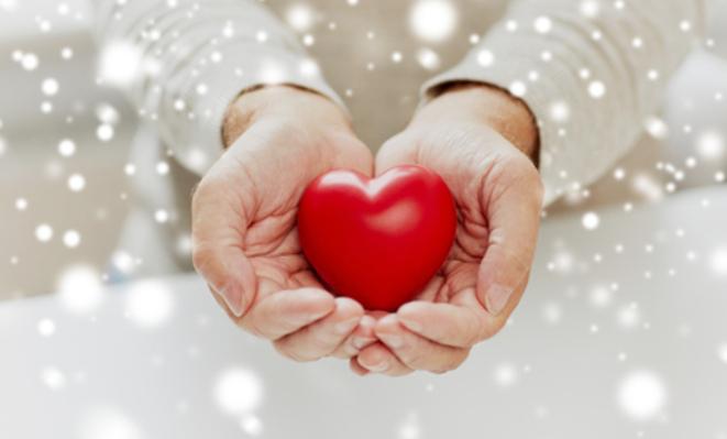 Corazón de Navidad