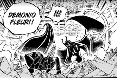 Spoiler Manga One Piece Chapter 1022, manga one piece chapter 1021, one piece 1021, teknik baru nico robin, jurus baru nico robin,kekuatan baru nico robin, Spoiler One Piece Chapter 1022, nico robin vs black maria