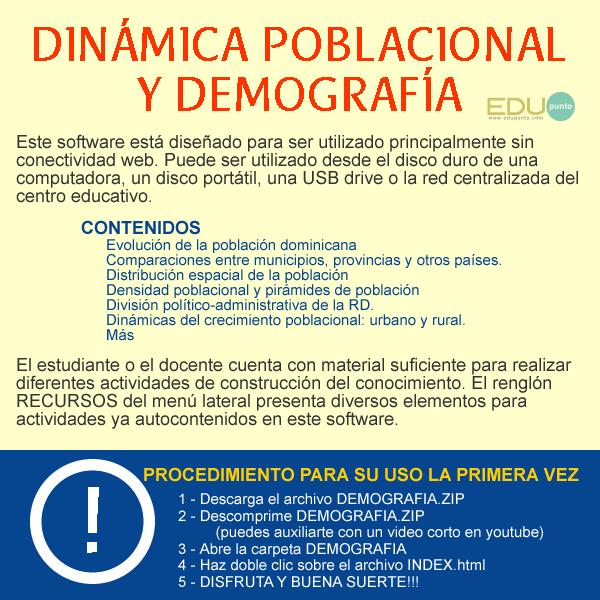 poblacion, dinamica, dominicana, densidad