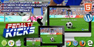 Penaltı Vuruşu - HTML5 Spor Oyunu