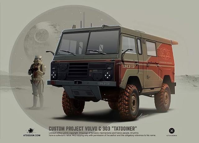 Andrej Tkachenko - VolvoC303 'Tatooiner'