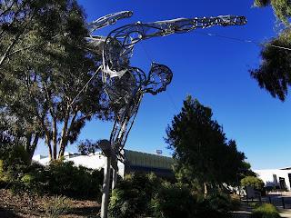 Bruce Public Art | The Gymnast by Dominique Sutton
