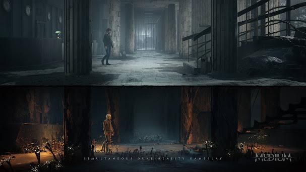 The Medium gameplay snapshot