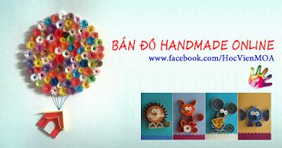 Bán đồ Handmade qua mạng xã hội
