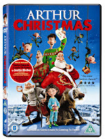 Arthur Christmas DVD Review & Giveaway