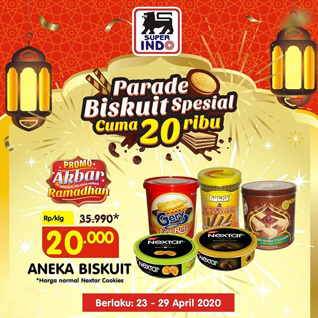 #Superindo - #Promo Parade Biskuit Spesial Cuma 20K (s.d29 April 2020)