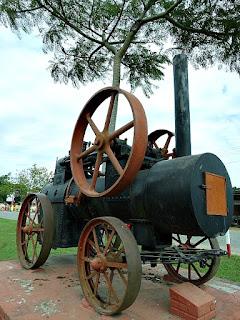 Monumento à Locomotiva, Restinga Seca (RS)