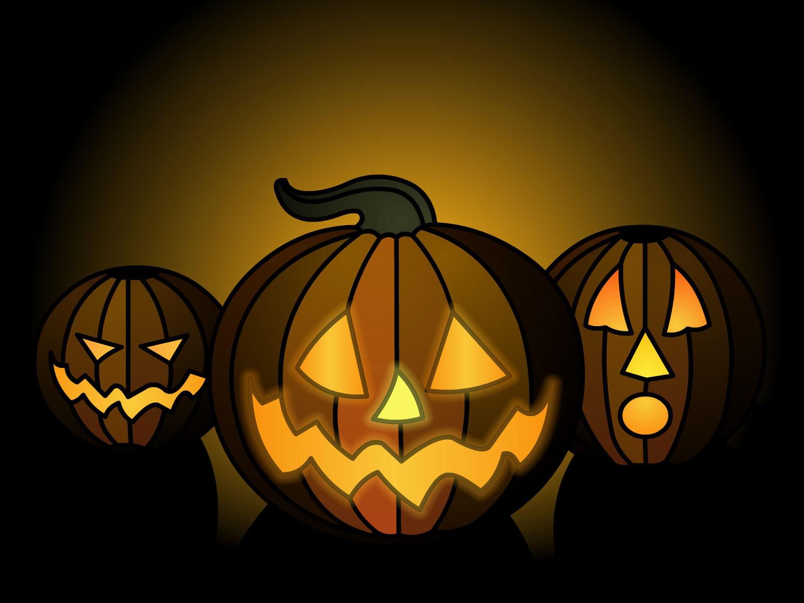 halloween pictures wallpaper pumpkin - photo #3
