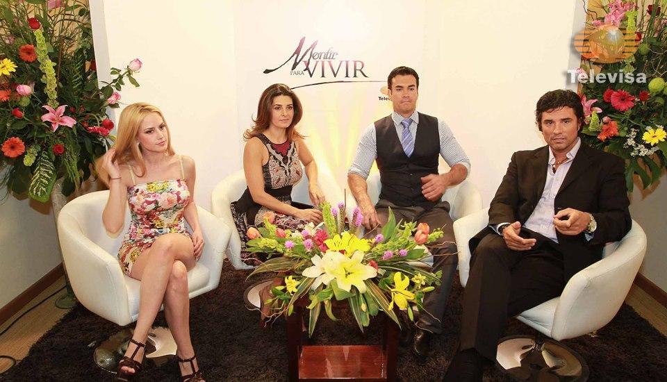 telenovelas y estrellas: Fotos nuevas de Mentir Para Vivir