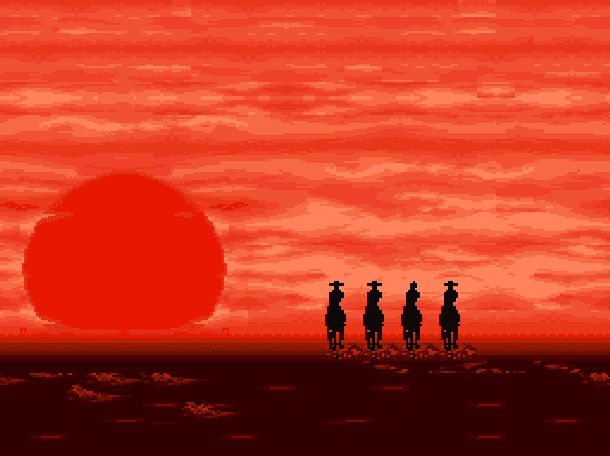 Sunset Riders - Velho Oeste no Fliperama