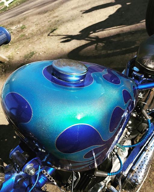 Harley Davidson Knucklehead By David Landberg Hell Kustom