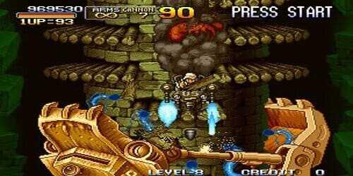 تحميل لعبة حرب الخليج Metal Slug للكمبيوتر