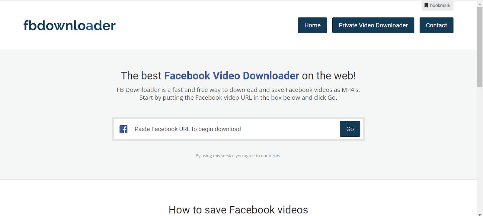 20 Best Facebook Video Download online tools