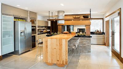 Barras de cocina moderna