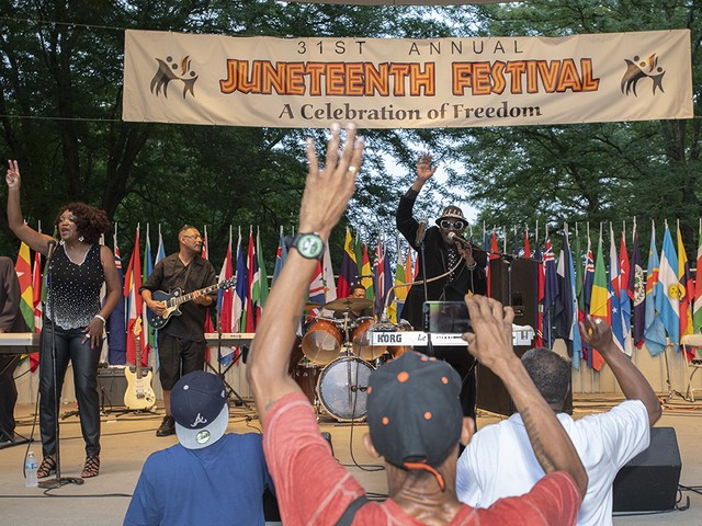 Cincinnati's Juneteenth Freedom Festival - June 15-16, 2019
