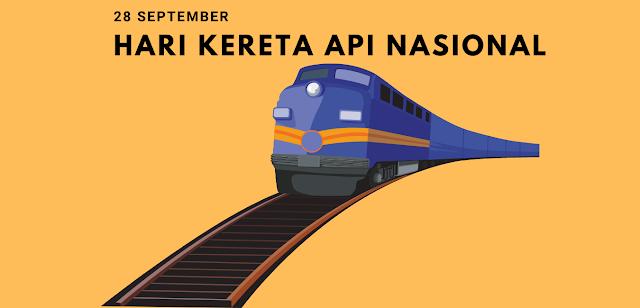 Sejarah Hari Kereta Api (KA) 28 September