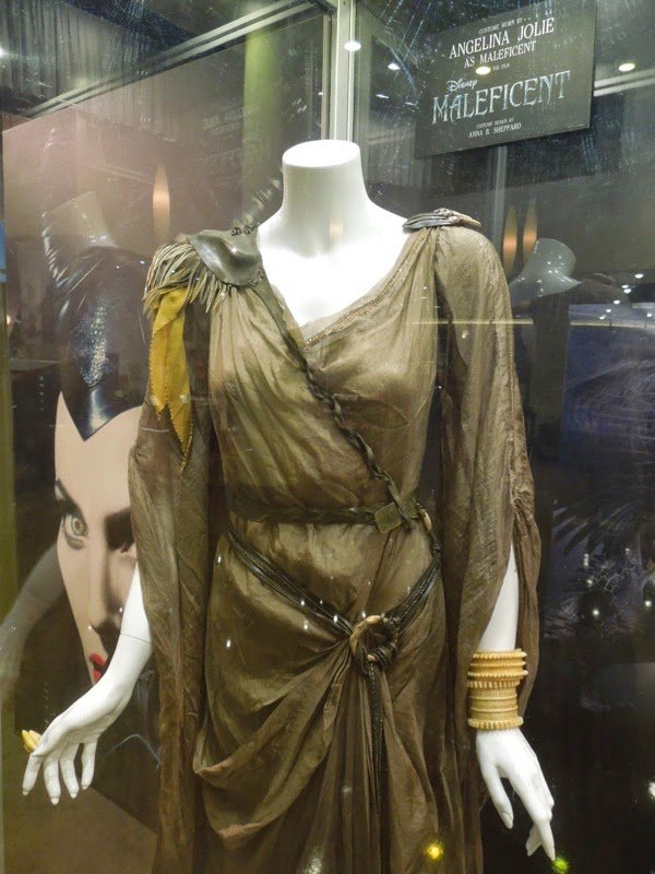 Maleficent movie costume detail