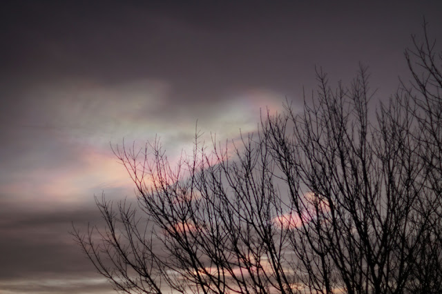 Nacreous clouds over Norfolk