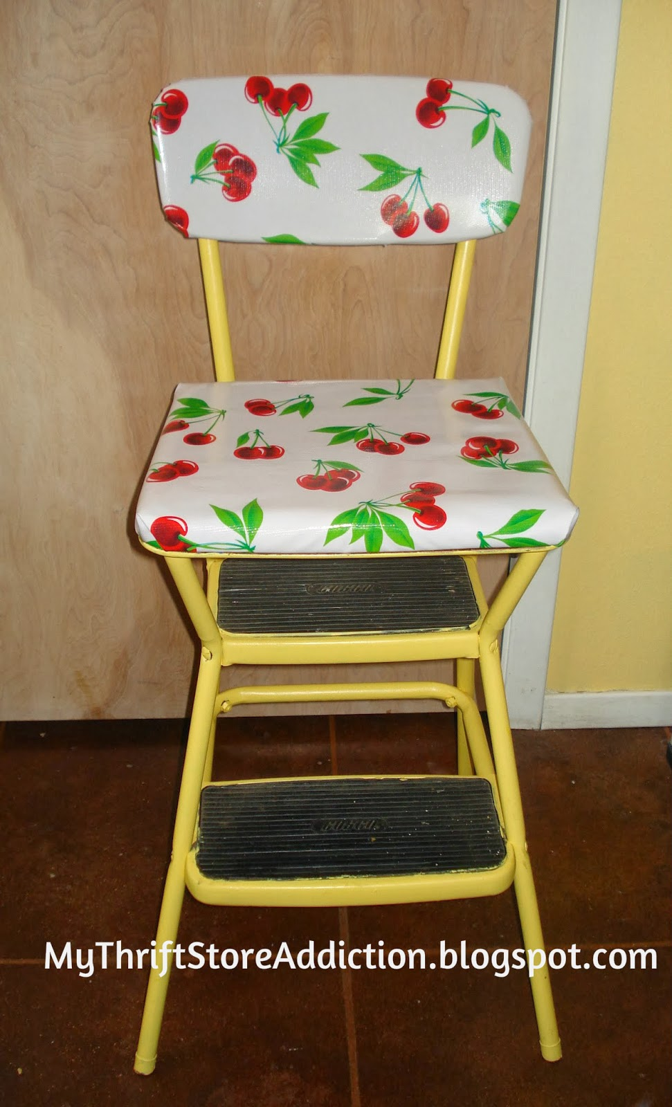 upcycled vintage Cosco stool