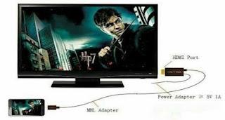 Cara Menghubungkan HP ke TV
