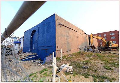 The Fastlane was demolished back on July 18, 2013