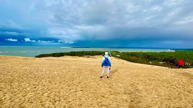 dune du pilat en hiver