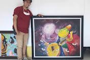 Lukisan Tahun 2014 Dibandrol 50 Juta, Edi Dharma: Uangnya Untuk Pembangunan Galery Kartun di Jambi