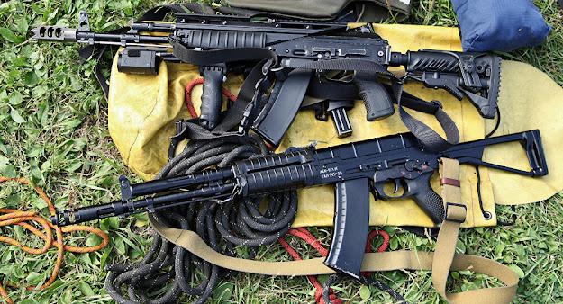 novo fuzil de assalto