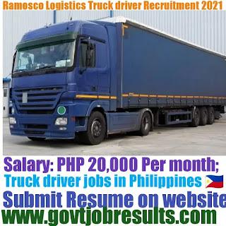 Ramosco Logistics Truck Driver Recruitment 2021-22