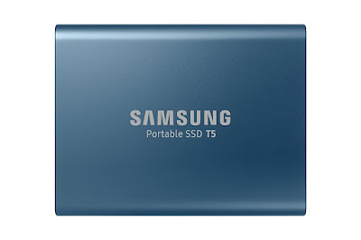 Samsung T5 500GB Up to 540MB/s USB 3.1 Gen 2 (10Gbps, Type-C) External Solid State Drive (Portable SSD)