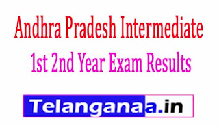 AP Inter 1st 2nd Year General Exam Results 2017