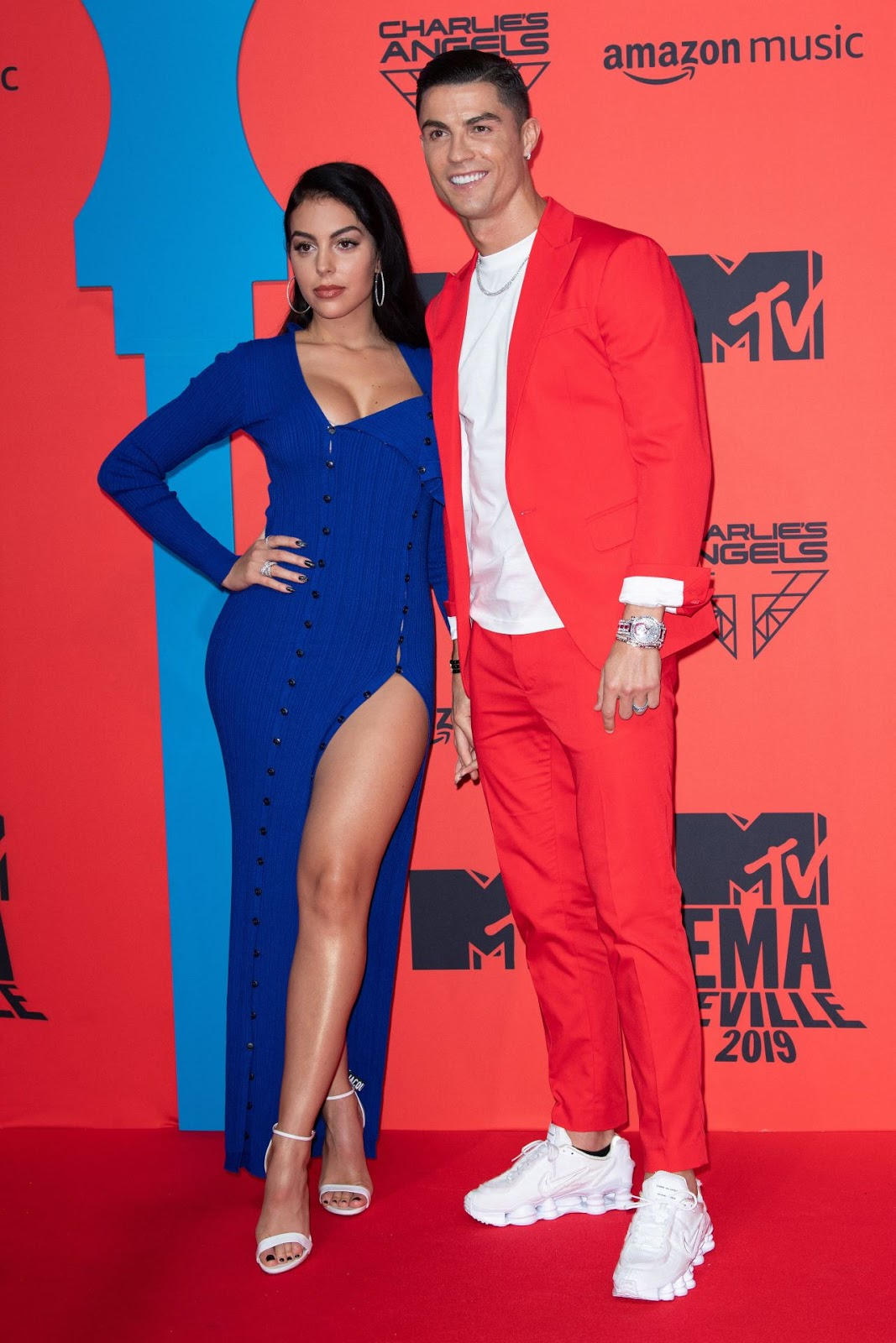 Cristiano Ronaldo & Georgina Rodriguez Make One Picture Perfect Couple at MTV EMAs 2019