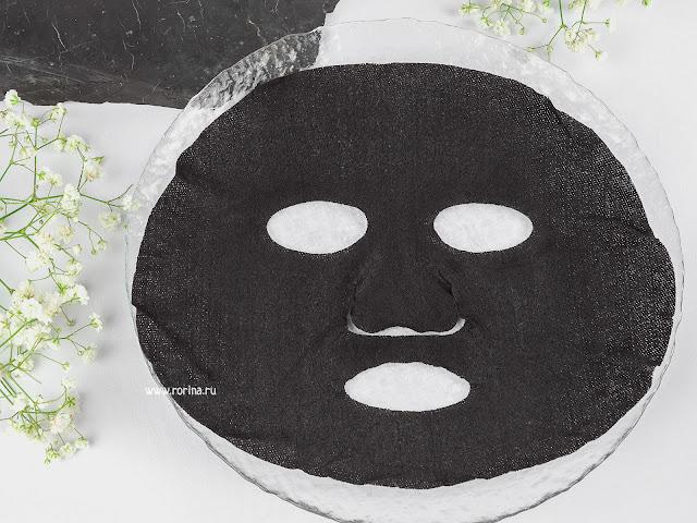 Черная тканевая маска для лица: отзывы с фото
