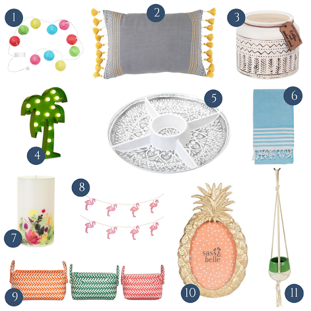 Bargain on-budget interiors, accessories and decor from the high street to refresh and update your home for the new Summer season