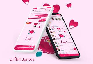 Love Love Theme For YOWhatsApp & Fouad WhatsApp By Driih Santos