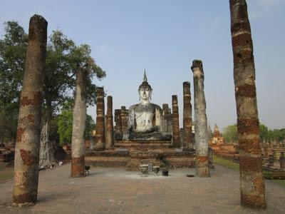Wat Mahathat, Sokhothai.