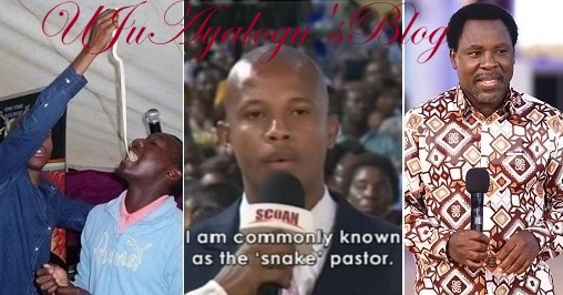 """TB Joshua tricked me. I was forced to confess on Live TV"" — Snake pastor makes shocking claims"