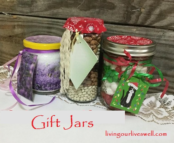 3 different gift jar gifts
