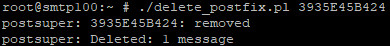 Cara  Menghapus  Spam  Email  Di Postfix