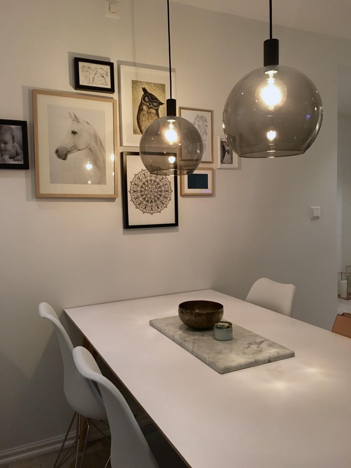Belysning spiseplass