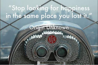 Image about the quote Stop looking for happiness in the same place you lost it