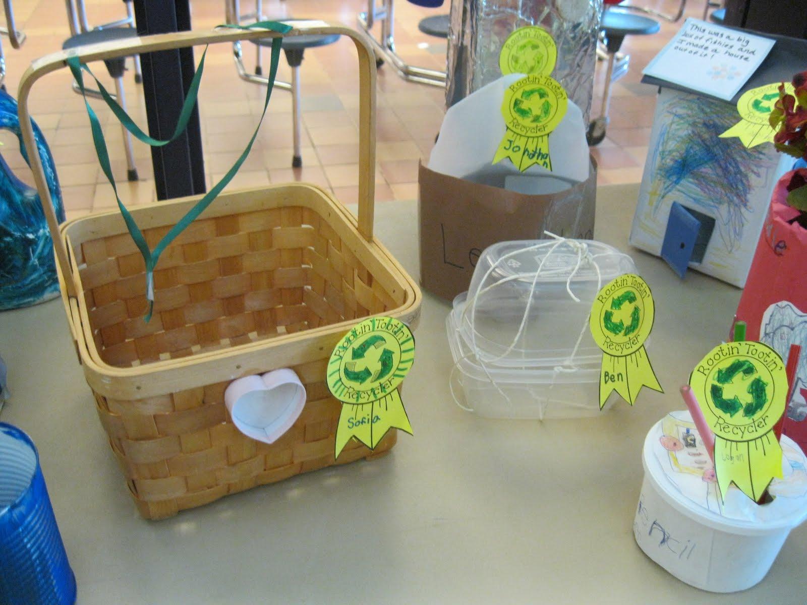 woodville school u0026 39 s blog  kindergarten recycling projects