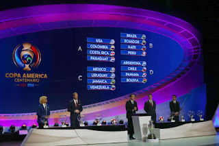 2016 Copa America Centenario Draw; US Team will Face Tough Competition
