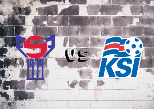 Islas Faroe vs Islandia  Resumen