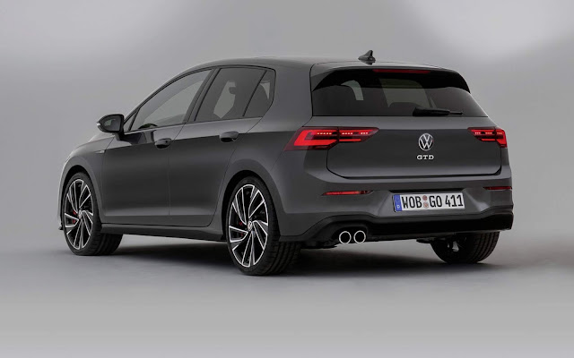 VW Golf GTD Mk8 2021