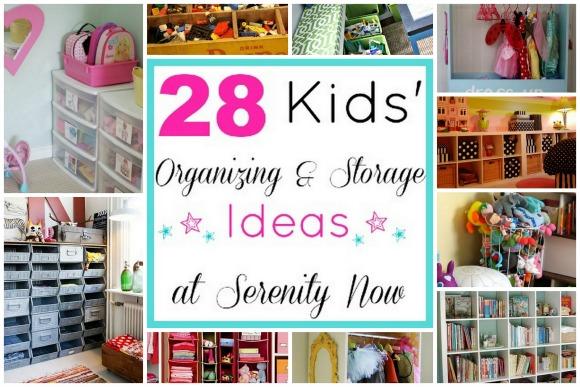 Kids Toy Organization And Storage Ideas Via Serenity Now Blog