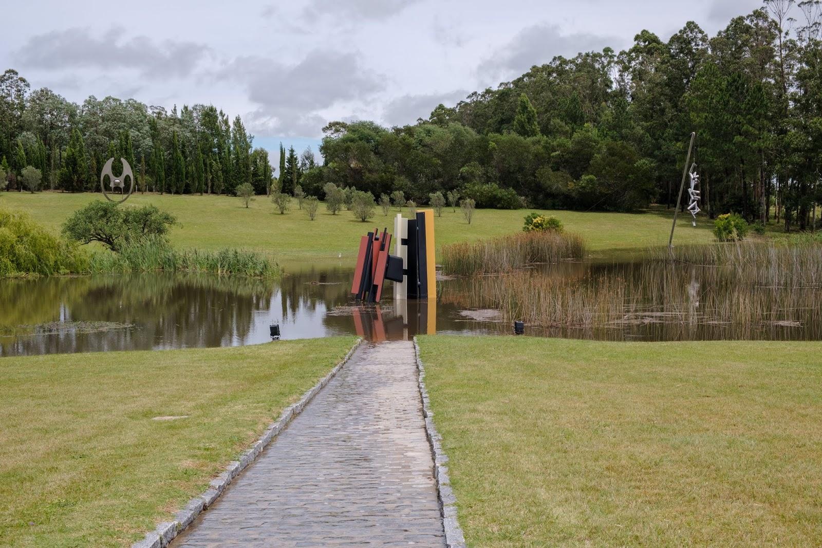 Parque de esculturas em Punta del Este