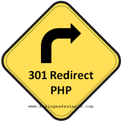 301 redirect in php